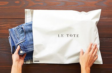 Le Tote - Personalized Clothing Subscription & Rented Fashion